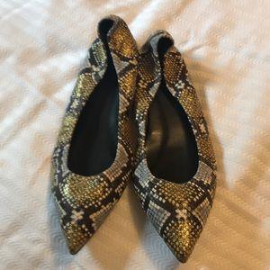 J crew shoes snakeskin 9